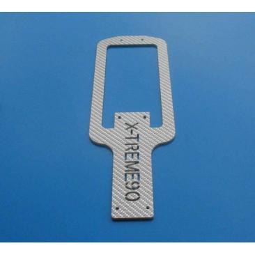 XT90-61084(2) Bottom Plate( Sliver) 2.5mm