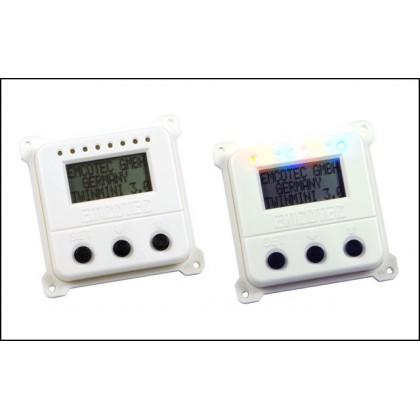 DPSI TWIN Mini - LC-Display (white)
