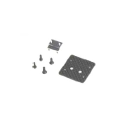 KSM10-F20 Gyro mount set (B) ALU,CF