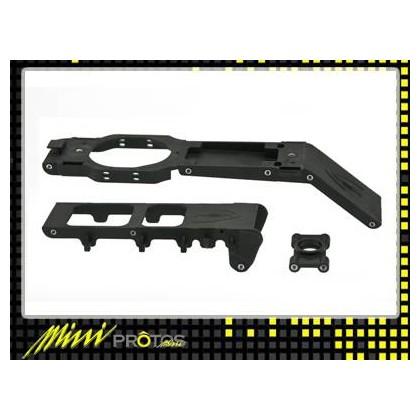 MSH41091 Carbon frame - Plastic parts