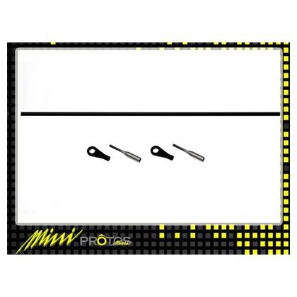 MSH41108 Tail control rod set stretch Mini