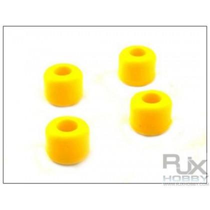 Goma patines amarilla 8mm