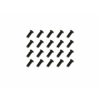 G832246 Tiny Head Machine Screw(2x4.6)x20pcs