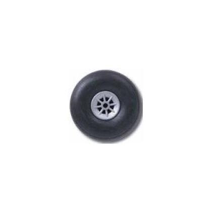 ruedas goma 64mm 2pzas