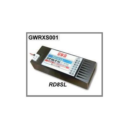 RD8SL DUAL CONVERSION 35MHZ GWS