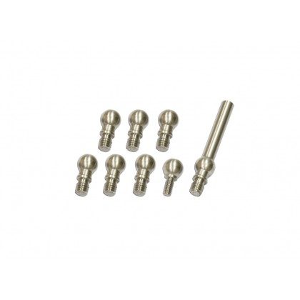 217407 Stainless Linkage (4.8mm) Balls