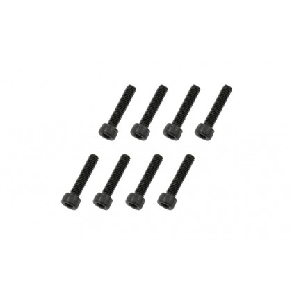 217547 Socket Head Cap Screw - Black (M2.6)