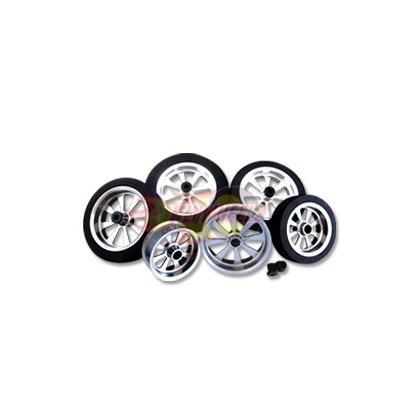 FlyWheelz™Alu Hub Light Foam Wheel 3""