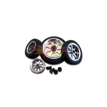 FlyWheelz™Alu Hub Light Foam Wheel 2""