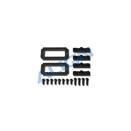 HN6070 Carbon Fiber 18G Servo Adapter Plate