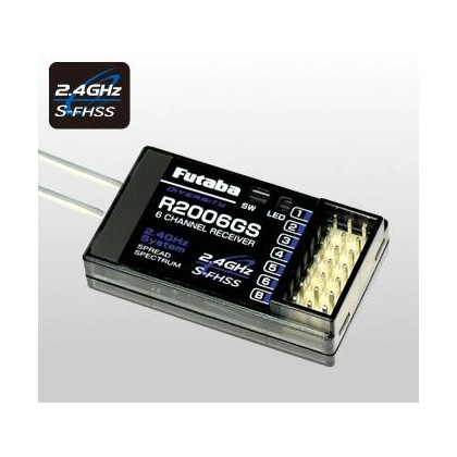 R-2006GS (6ch.) 2.4GHz S-FHSS