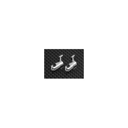 Metal Blade Grip w/ angular-contact bearings -Silver (MCPX)