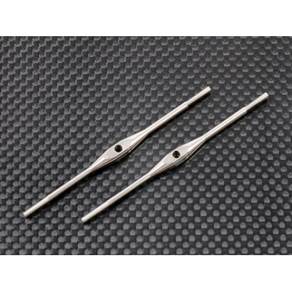 Titanium Turnbuckles (M2.0 x 71mm)- 2 Pcs