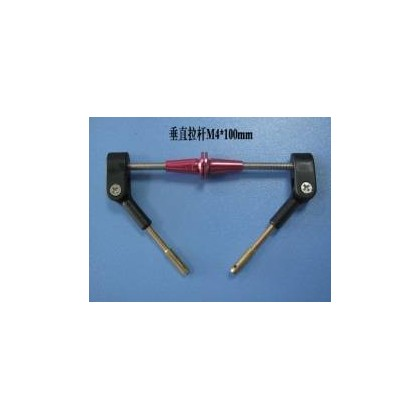 Vertical push rod assembly