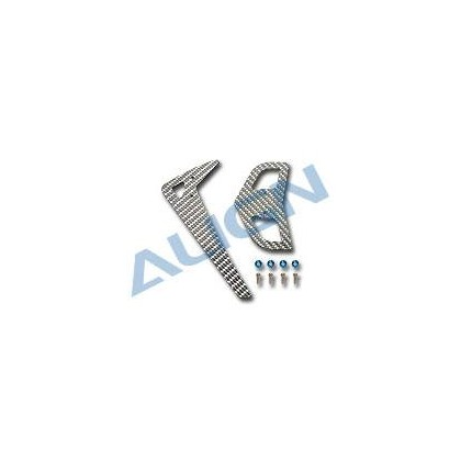 HS1213-75 Carbon Fiber Stabilizer/3K Silver