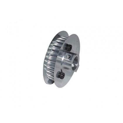 H0218-S Aluminum Main Pulley Z18