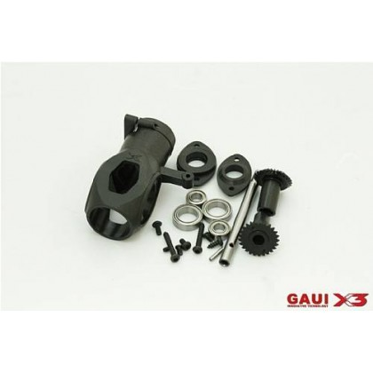 216119 X3 Tail Case Assembly (with gears)