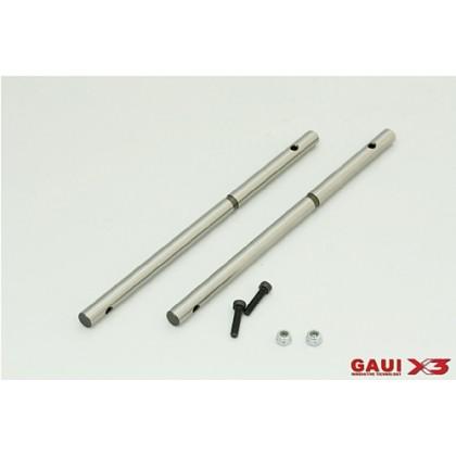 216201 X3 Main Shaft 125mm x2pcs
