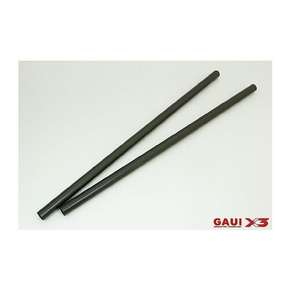 216204 X3 Tail Boom (Black anodized)x2pcs