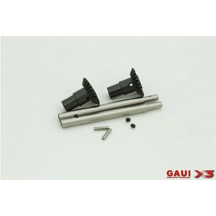 216185 X3 Tail Output Shaft with Bevel Gears Set x2set