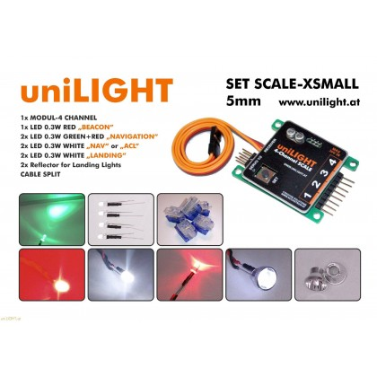 Set SCALE-XS 15mm