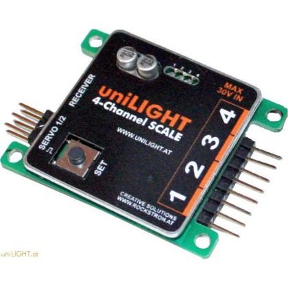 UniLight Modulo 4-Kanal SCALE