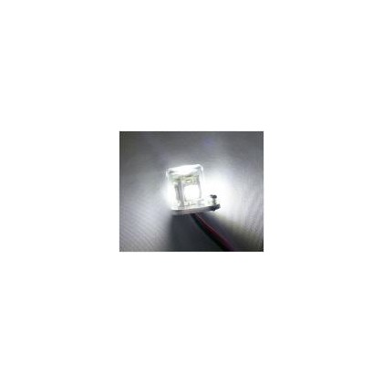 Luz redonda 1w 15mm blanca