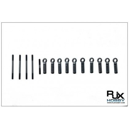 X600-61122 Plastic Linkage and Metal Push Rods