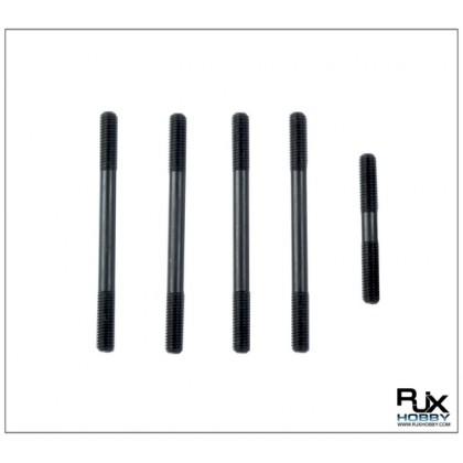 X600-61122A Metal Push Rods x5