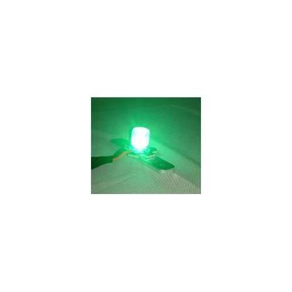 luz redonda 8w verde