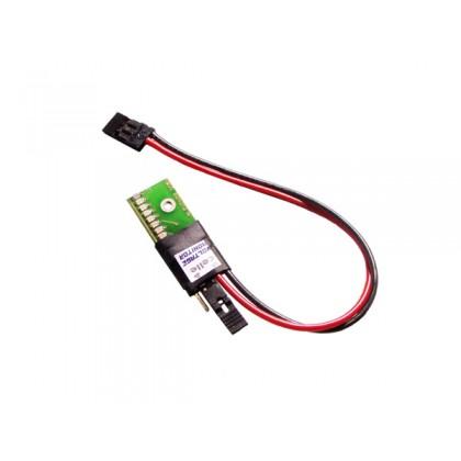 Indicador bateria 2 cel LiFe- lipo