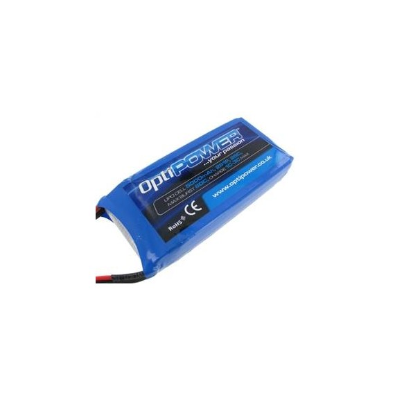 OPTIPOWER LIPO 5000 2S RX Pack