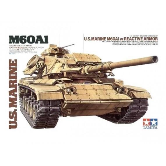 TANQUE NORTEAMERICANO M60A1 CON BLINDAJE REACTIVO
