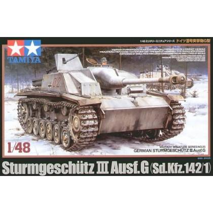 Aleman-Sturmgeschutz III Ausf.G - 1/48 Saukopf