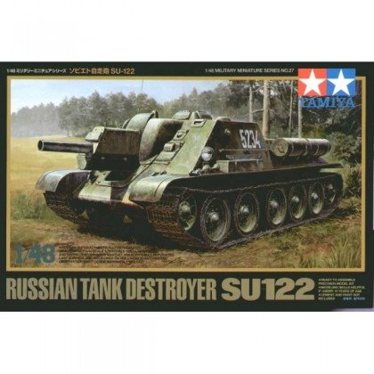 Russian Tank Destroyer SU-122 - 1/48