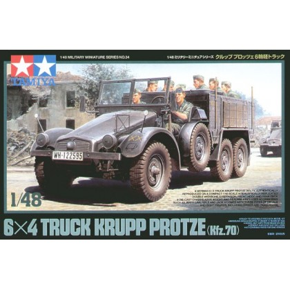 Truck Krupp Protze Kfz.70 1:48 Military Model Kit
