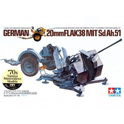 CAÑON ALEMAN FLAK 38 20mm