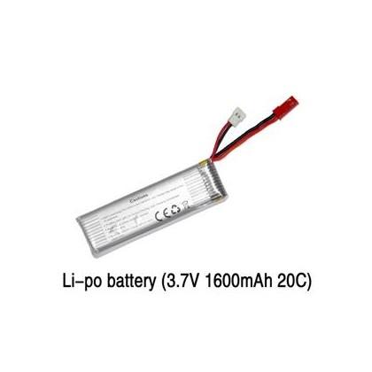 QR-Y100-Z-15 Li-po batería (3.7V 1600mAh 20C) para Walkera QR Y1