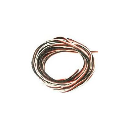 Cable servo PVC 0.25 mm² 1m