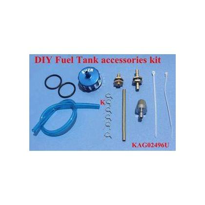 Set de accesorios para deposito azul