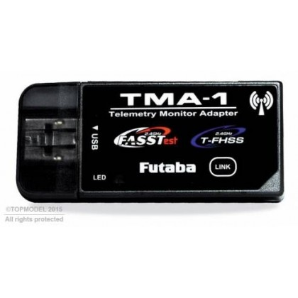 Receptor Telemetría Multimedia TMA-1