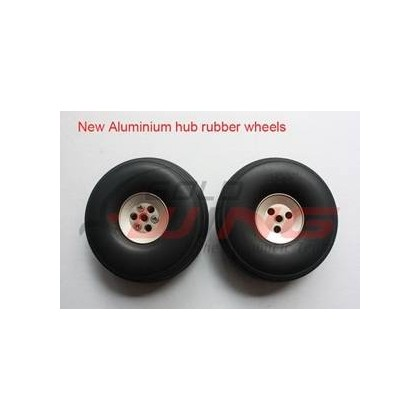 "Ruedas con hub aluminio 8.5"""