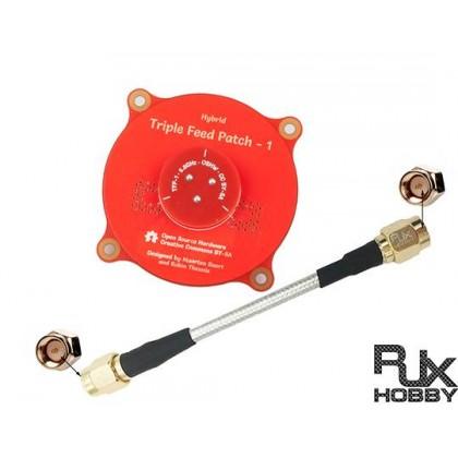 5.8 GHz 9.4dBi Triple Feed Patch