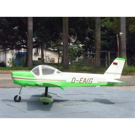 Monsun 100cc color verde y blanco