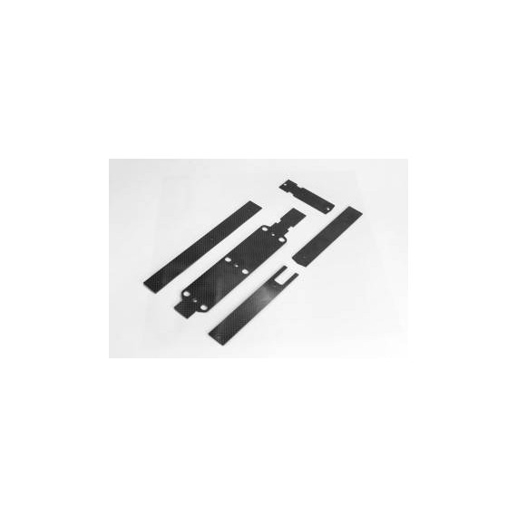 054005 X5 V2 Stiffening Plates and Mounts for electronics