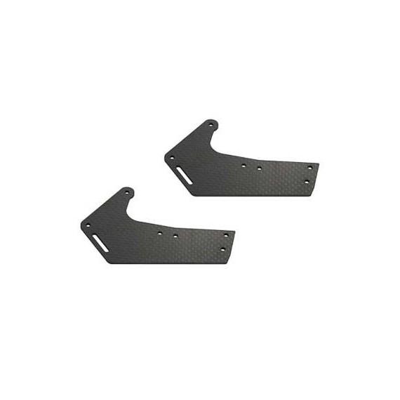 217013 X7 CF Front Brace Set (2mm)