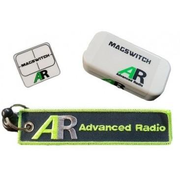 Interruptor de redundancia doble bateria magnetico